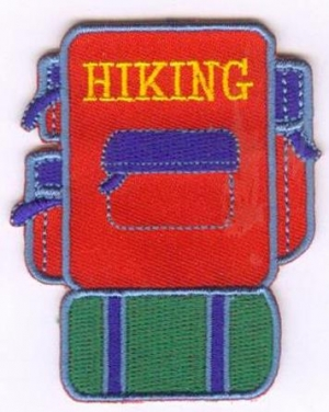 Hiking Iron-On Backing (Iron-On)
