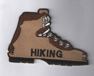 Hiking Boot (Iron-On)