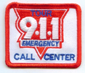 911 Emergency Call Center Tour(Iron-On)