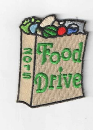 Food Drive 2015 Bag (Iron-On)