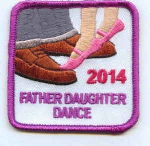 Father Daughter Dance 2014 (Iron-On)