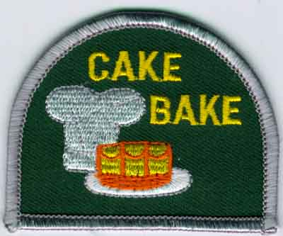 Buy Custom And Stock Cake Bake Embroidered Patches At