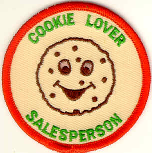 Cookie Sales Person