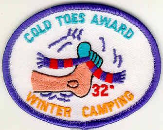 Cold Toes Award