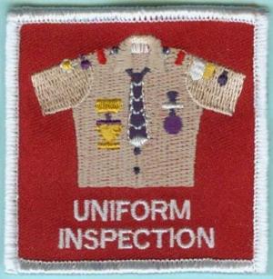 Uniform Inspection.