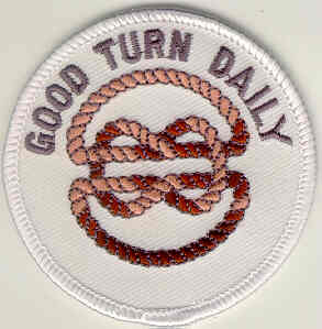 Buy Custom And Stock Good Turn Daily Embroidered Patches