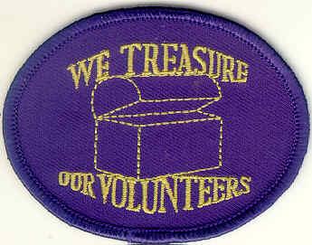 We Treasure Our Volunteers
