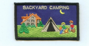 Backyard Camping (Iron-On)