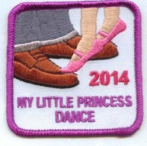 My Little Princess Dance 2014 (Iron-On)