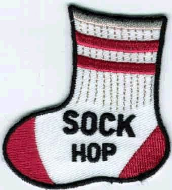 Sock Hop (Iron-On)
