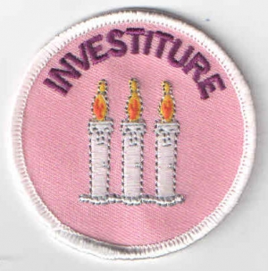 Investiture (3 Candles)Pink