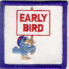 Early Bird w/Sign