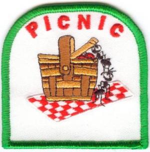 Picnic Basket w/Ants