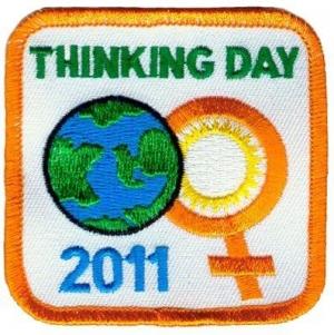 Thinking Day 2011 Orange Border