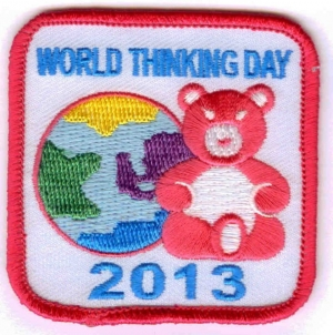 World Thinking Day 2013 (Bear)
