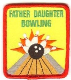 Father Daughter Bowling